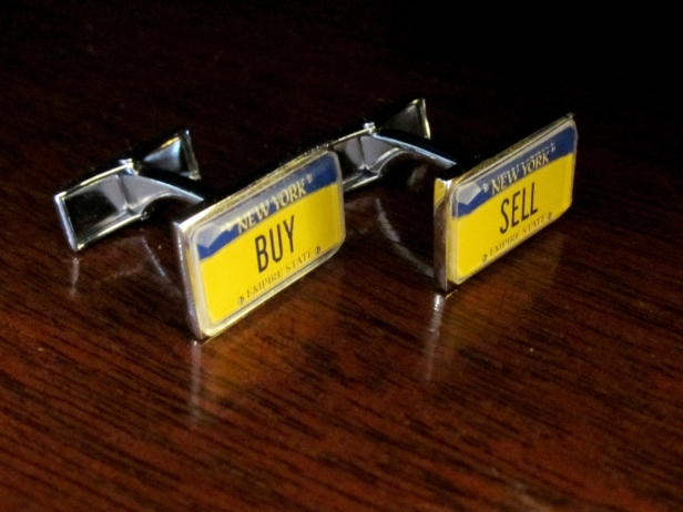 Personalized license plate cufflinks