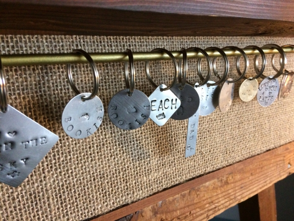 stamp keychains